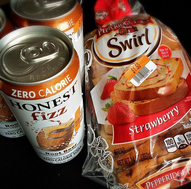 Foodie Goodies - Big Lots - Strawberry Bread & Root Beer