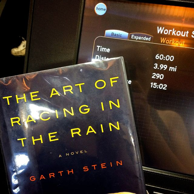 The Art of Racing in the Rain Book - Treadmill - Gym