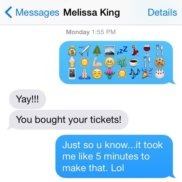 Blend Ticket Text