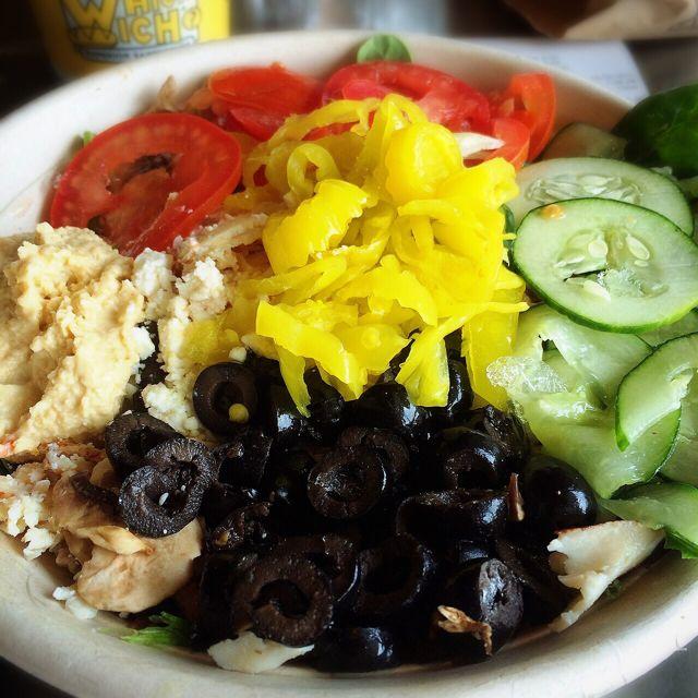 Which Wich Greek Salad
