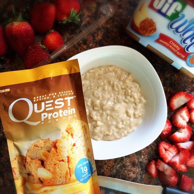 Peanut Butter & Jelly Quest Oatmeal