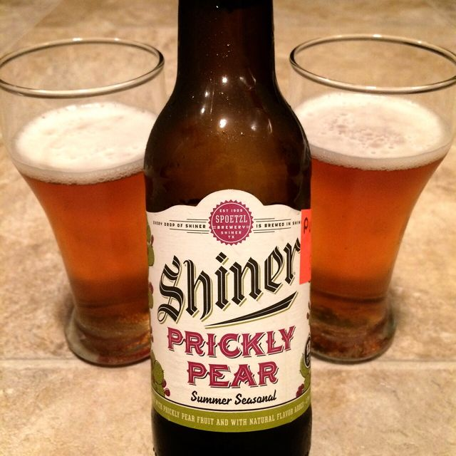 Prickly Pear Shiner Beer