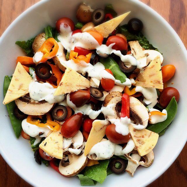 Salad - Bacon Cheddar + Ranch