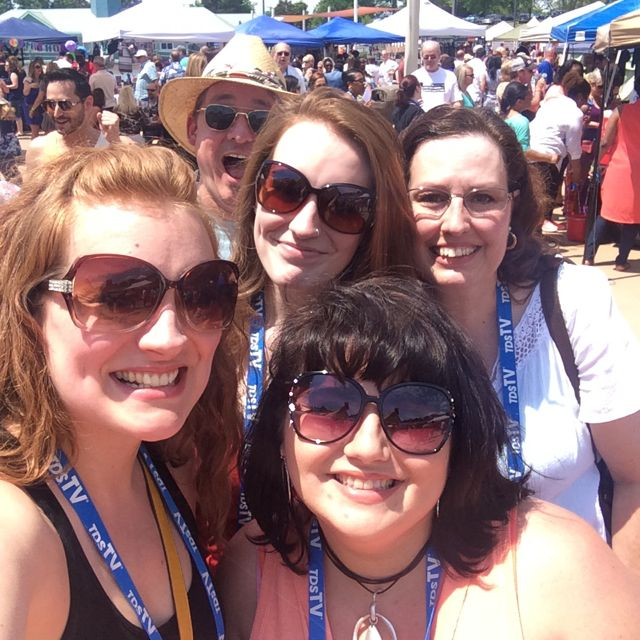Wine Fest Group Selfie