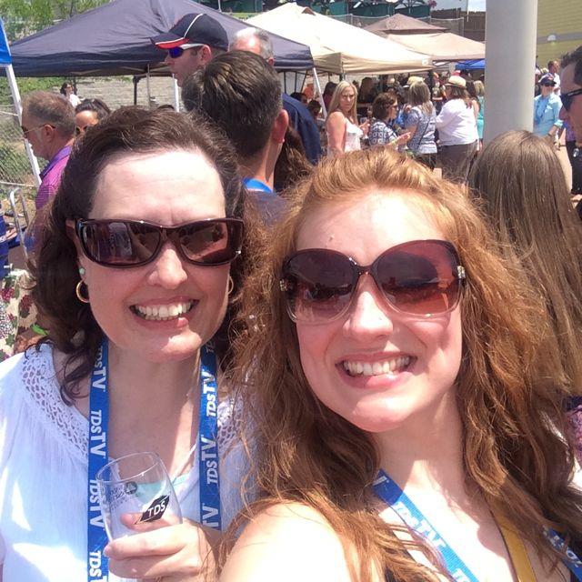 Wine Fest Mom Selfie