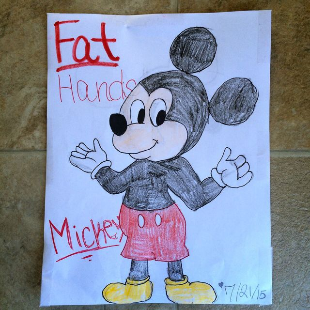 Fat Hands Mickey