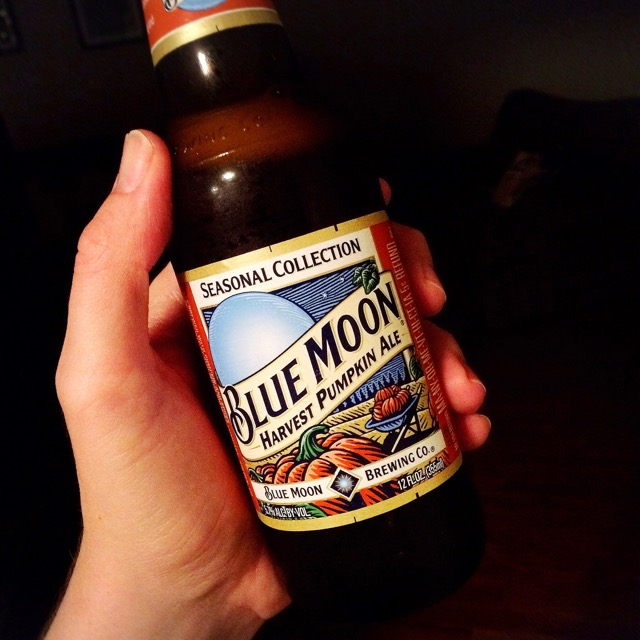 Blue Moon Pumpkin Beer